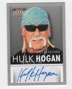 Hulk Hogan AUTOGRAPH 2015 Panini Americana #MS-HH AUTO WWE NXT ROH WWF Wrestling