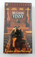 My Cousin Vinny VHS Tape 1992 Joe Pesci Marisa Tomei Ralph Macchio NEW