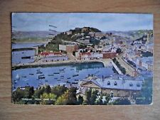 Vintage Valentines Postcard of Torquay from Vane Hill posted in 1934