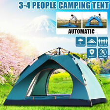 New listing Camping Tent Beach Outdoor Family Tents Portable 3 Person Waterproof PopUp Tent