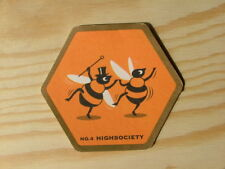 Beermat Coaster Young's Waggledance Honey Beer No4 highsociety BM481