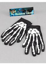 Adult Size Gothic Skeleton Gloves