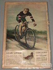 April 19th 1930 La Presse Henri Lepage Cycling Premium Photo