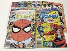 WEB OF SPIDERMAN #19-30 (MARVEL/1986/SYMBIOTE/0217145) NEAR COMPLETE SET OF 11