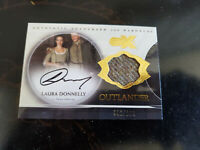 2019 SDCC EXCLUSIVE CRYPTOZOIC CZX OUTLANDER LAURA DONNELLY WARDROBE AUTO CARD