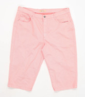 LCDN Mens Spotted Pink Cotton Shorts Size W36/L15
