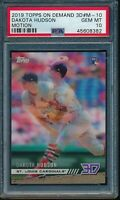 2019 Topps On Demand 3D #M-10 Dakota Hudson Motion Insert RC PSA 10 Gem Mint 900