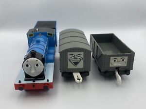 Tomy Trackmaster Plarail Edward the Blue Engine *MINT* *COMPLETE SET*