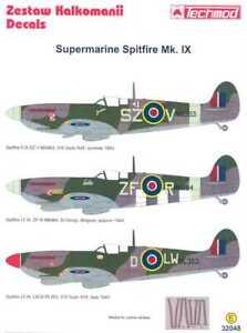 Techmod Decals 1/32 British SPITFIRE Mk.IX w/Masks