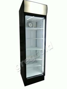 Flaschenkühlschrank Glastürenkühlschrank Norcool 400l
