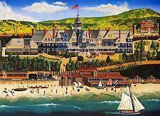 Limited Edition art prints, Redondo Beach Hotel, Herb Fillmore,Santa Fe Railroad