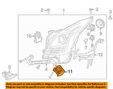Cadillac GM OEM 13-16 XTS Headlight Head Light Lamp-Diode 22791374