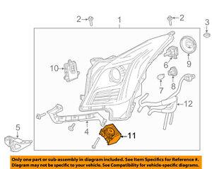 Cadillac GM OEM 13-16 XTS Headlight Head Light Lamp-Diode 22791374