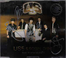 US5&Robin Gibb-Too Much Heaven cd maxi single signed