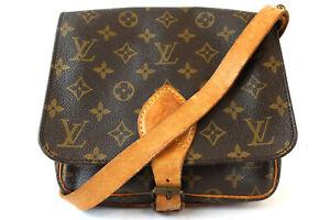 LOUIS VUITTON CartouchiereMM Monogram Shoulder Bag M51253