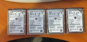 500Gb 7200Rpm 2.5 Drives x  5 System Pull lot 10