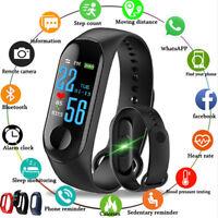 Smart Watch M3S Wristband Bracelet Heart Rate Fitness Tracker Sleep Monitor