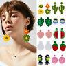 Boho Glass Seed Bead Tassel Earrings Drop Dangle Women Earrings Jewelry Summer