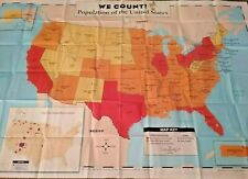 "Wall USA Map Nearly 6 x 4 feet 71.25"" x 47.5""  Scholastic"