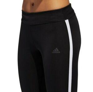 adidas Women's Response 3/4 Tights - black/white- Own The Run CZ5076 Size ( XS )