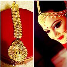 Bollywood Jewelry Tikka 22k Gold Plated Headpiece