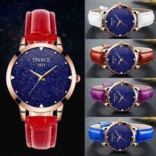Tinace Women Mid sized 34mm GLITTER face Steel Rose gold Analog Wrist watch