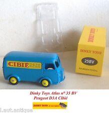 Dinky Toys Atlas n° 35 BV Peugeot D3A Cibié