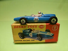 DINKY TOYS 240 COOPER RACING CAR -  F1 BLUE 1:43 - VERY GOOD CONDITION IN BOX
