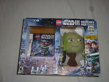 NINTENDO DS LEGO STAR WARS III COLLECTORS PACK LIMITED EDITION YODA PLUSH