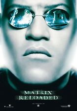 Matrix Reloaded Morpheus brille Poster Plakat (98x68cm) #4287