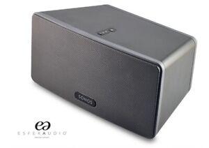 Sonos Play 3, Black Speaker, Amazon Echo Connect Compatible,  Amazing Sound