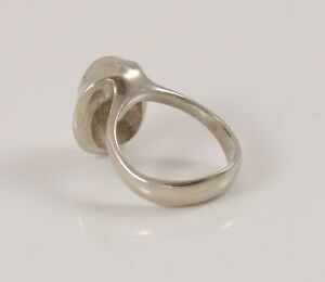 Danish sterling silver ring designed and made by Arne Johansen size L