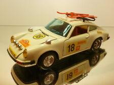 NACORAL 3556  PORSCHE 911 RALLY MONTE CARLO #18 SKI - CREAM 1:24 - VERY GOOD