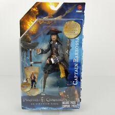2011 Pirates Of The Caribbean Captain Barbossa Action Figure Series 1