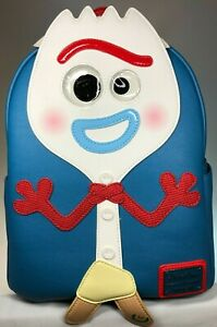 LOUNGEFLY Disney Parks Forky Mini Backpack NEW! With Tags
