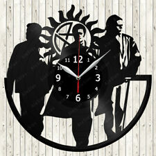 Supernatural Vinyl Record Wall Clock Decor Handmade 2088