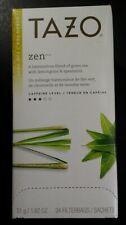 Tazo Zen Tea Bags  1.82 oz 24/Box 149900 Lemongrass Spearmint Green Tea