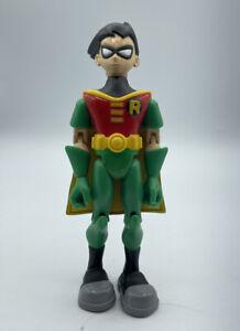 "DC Comics Teen Titans Go! Robin 3.5"" Action Figure Bandai 2003 Fast Free Ship"