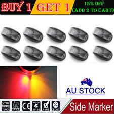 10X 2 LED CLEARANCE LIGHTS SIDE MARKER LAMP RED AMBER TRAILER TRUCK 12V 24V