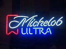 """New Vintage Michelob Ultra Logo Beer Lager Neon Light Sign 17""""x14"""""""