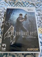 Resident Evil 4 -- Wii Edition (Nintendo Wii, 2007) New Sealed