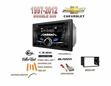 CHEVROLET Malibu IMPALA MONTE CARLO USB AUX Bluetooth Stereo Double Din Dash Kit