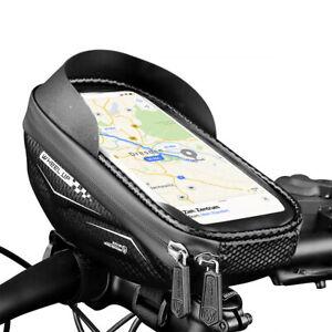 Fahrrad Lenkertasche Vorbau Handy Tasche Smartphone Halterung Halter e-Bike MTB