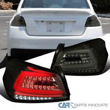 Tail Lights For Subaru 15-19 WRX/WRX STI Sequential LED Bar Smoke Brake Lamps