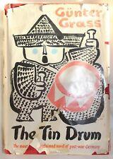 THE TIN DRUM, by GUNTER GRASS, POST WAR GERMANY, HARDBACK 1962