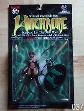 MEDIEVAL  AS WITCHBLADE CLAYBURN MOORE ACTION FIGURE 1998 NEW