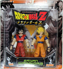 Dragonball Z ~ SAIYAN WARRIORS ~ GOKU & SS GOKU ACTION FIGURE SET ~ DBZ