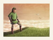 Zelda Skyward Limited Edition Poster Rare Giclee Print