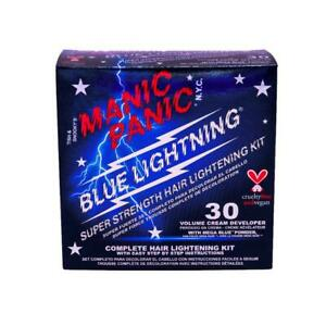 Manic Panic Blue Lightning Bleach Kit 30 Volume