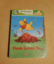Leap Frog Disney Pooh Loves To. Tag Junior Book